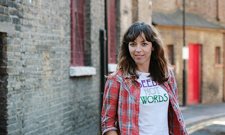 Bridget Christie: 'I've a long way to go'