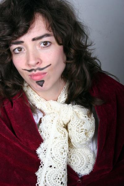 Bridget as King Charles II