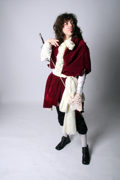 Bridget as King Charles II
