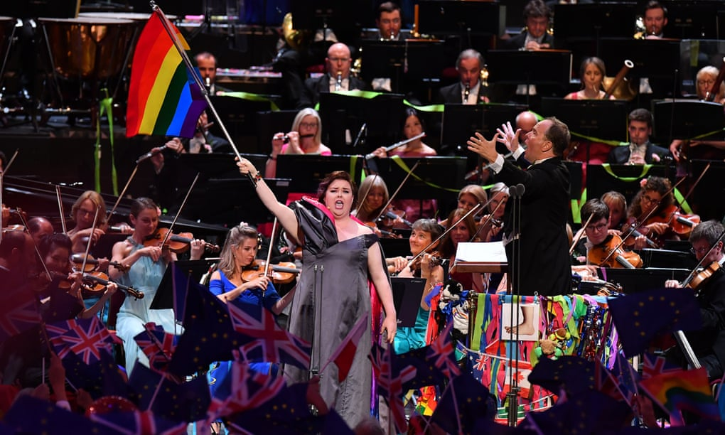 'I thought I'd hate it': Bridget Christie on loving the Last Night of the Proms